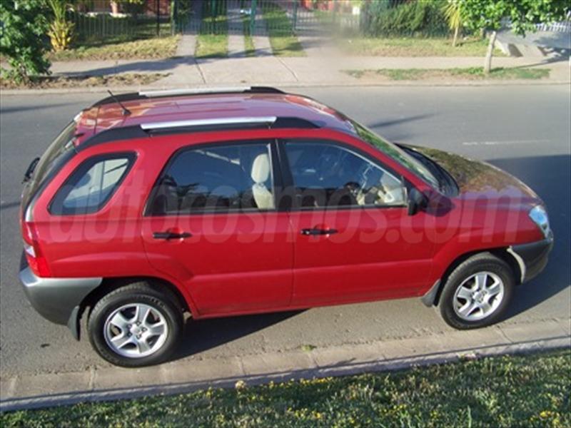 venta auto usado Kia Sportage LX 2.0L 4x2 Aa 2AB (2007) color Rojo ...