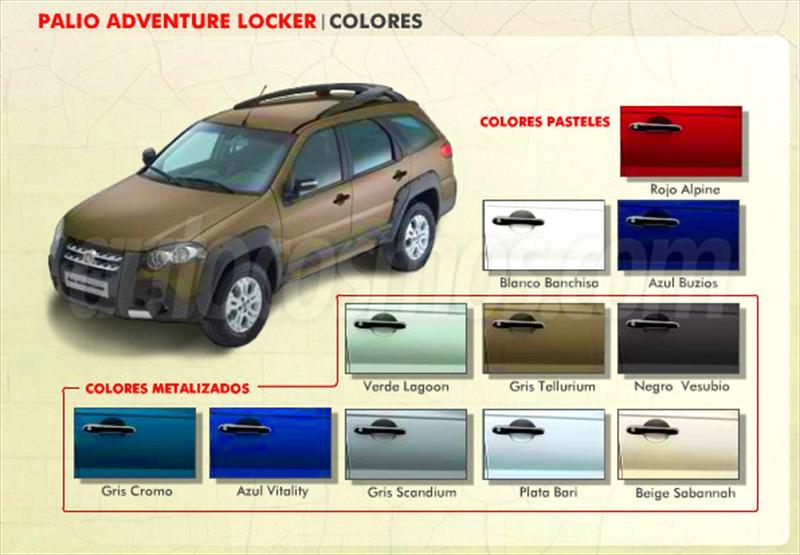 Fiat palio weekend nuevos en argentina for Fiat idea adventure locker precio