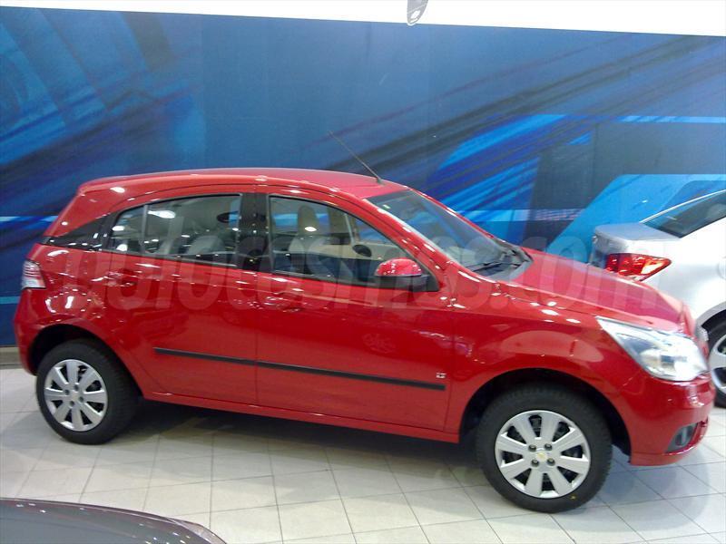 Chevrolet Agile LT (2013)