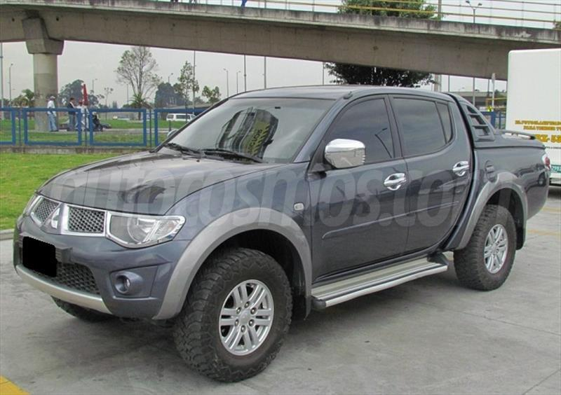 Mitsubishi pick up l200 4x4 doble cabina foto 3 car interior design - Mitsubishi l200 doble cabina ...