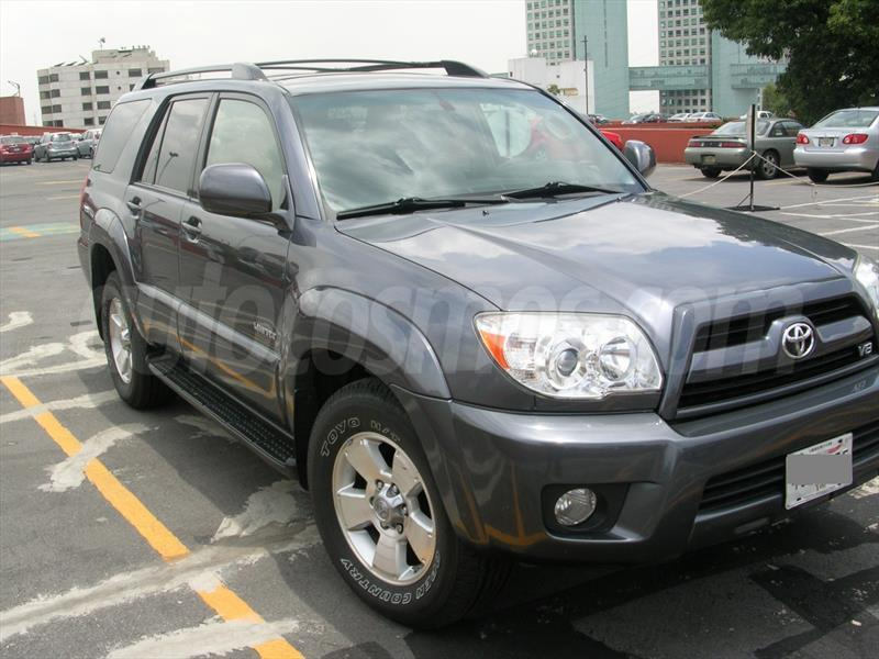venta auto usado toyota 4 runner limited 3rd row 2008. Black Bedroom Furniture Sets. Home Design Ideas
