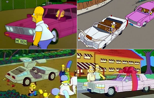 Los Autos De Los Simpsons Parte 1 Autocosmos Com