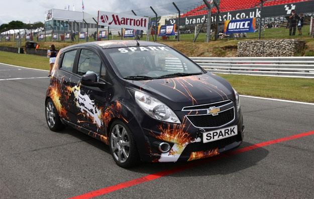 Chevrolet Spark turbo, el auto de seguridad del WTCC ...