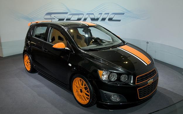 Chevrolet Sonic Z Spec Concept Aveo 2012 Tuneado