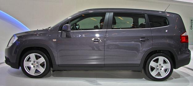 Chevrolet Orlando en Chile