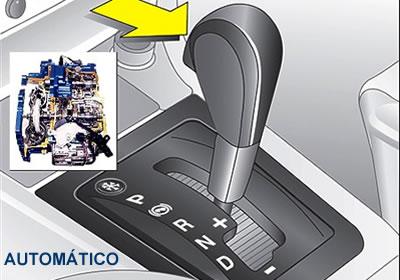 Como manejar un auto automatico en subida