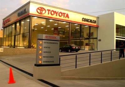 Toyota Abre Dos Nuevas Agencias En M Xico