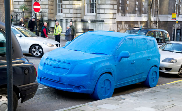 Chevrolet Orlando hecho de Play-Doh aparece en Londres