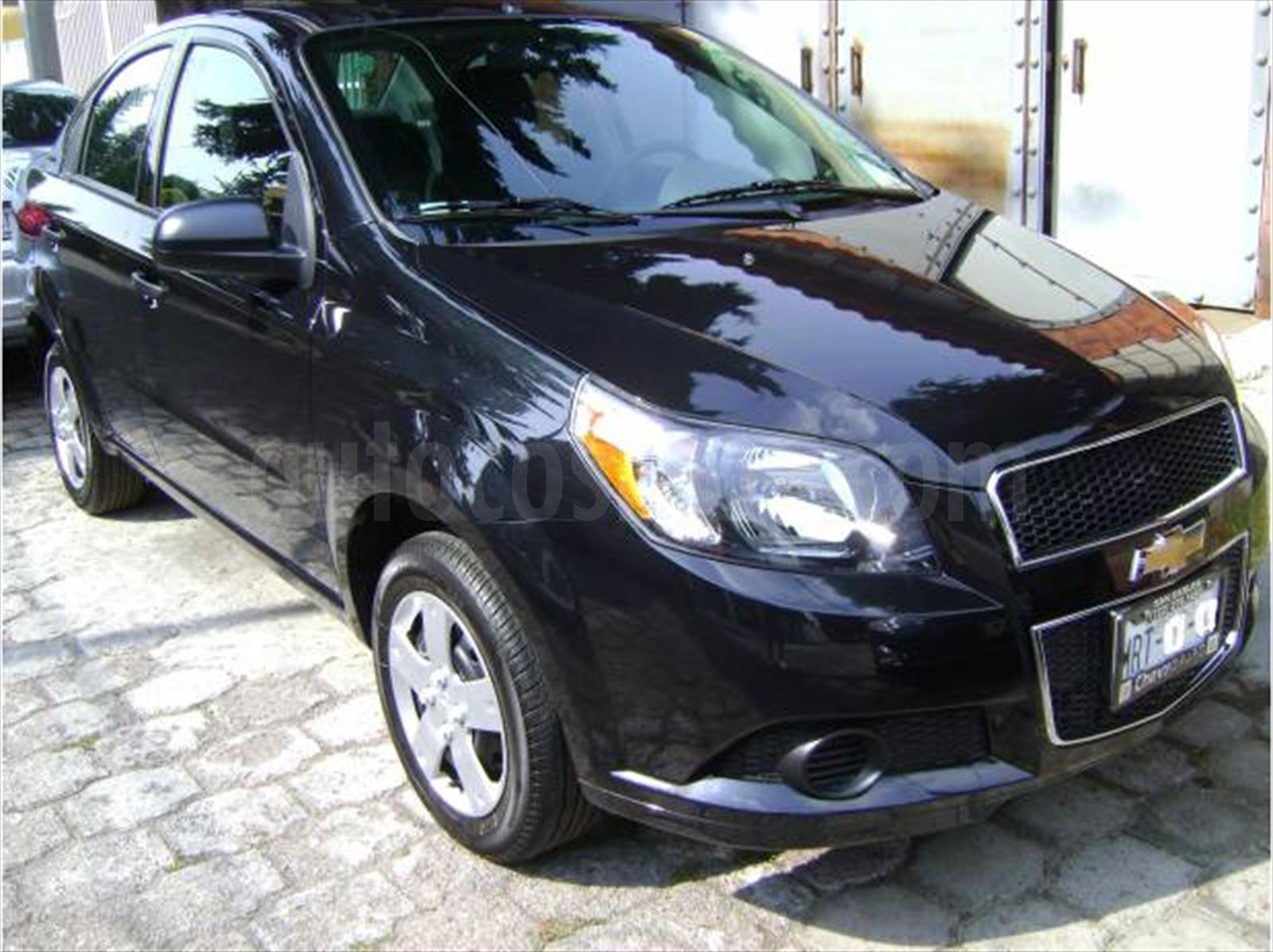 Venta Auto Usado Chevrolet Aveo Paq C 2012 Color Negro