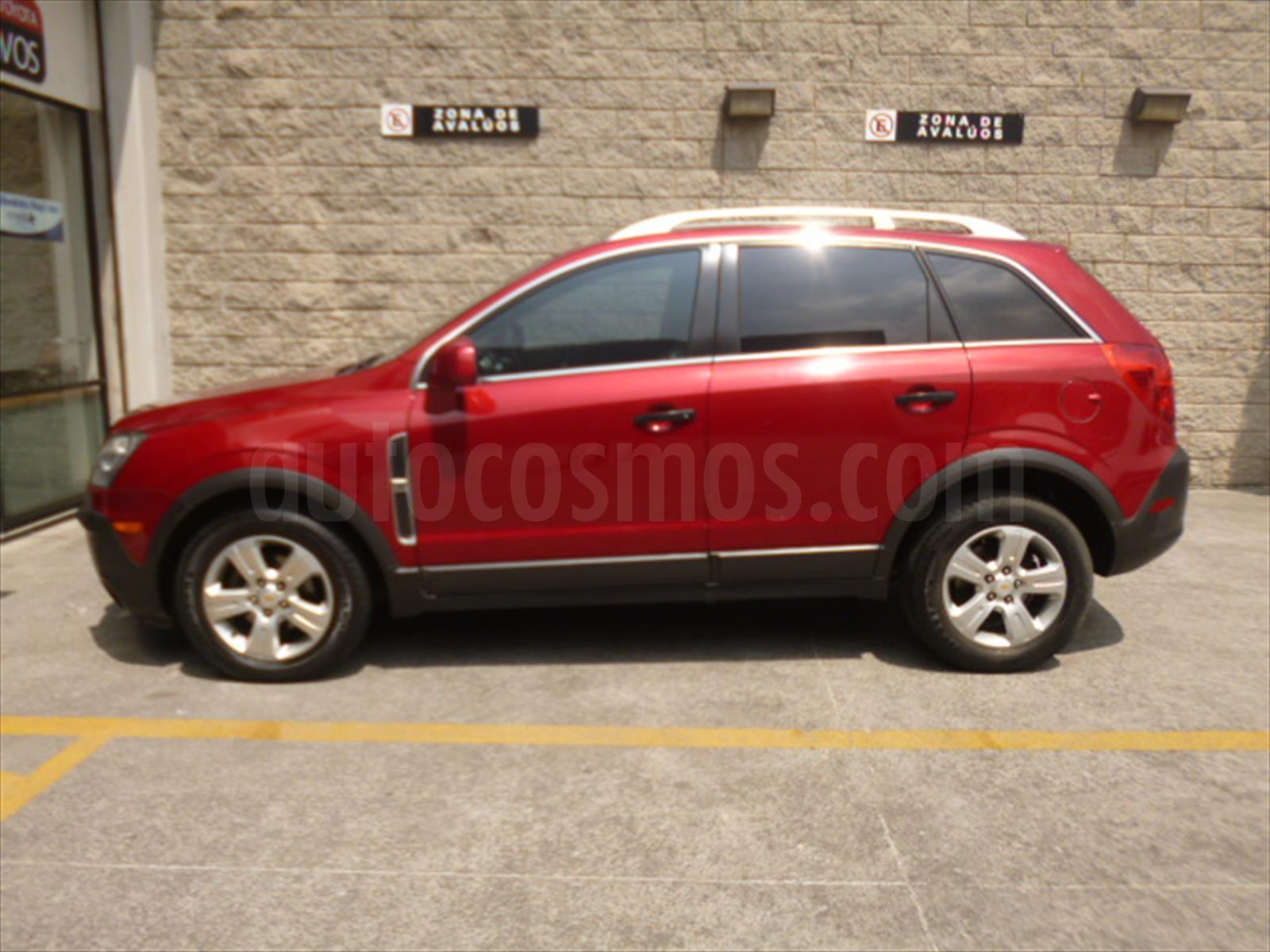 chevrolet captiva sport ls 2014 color rojo tinto chevrolet captiva