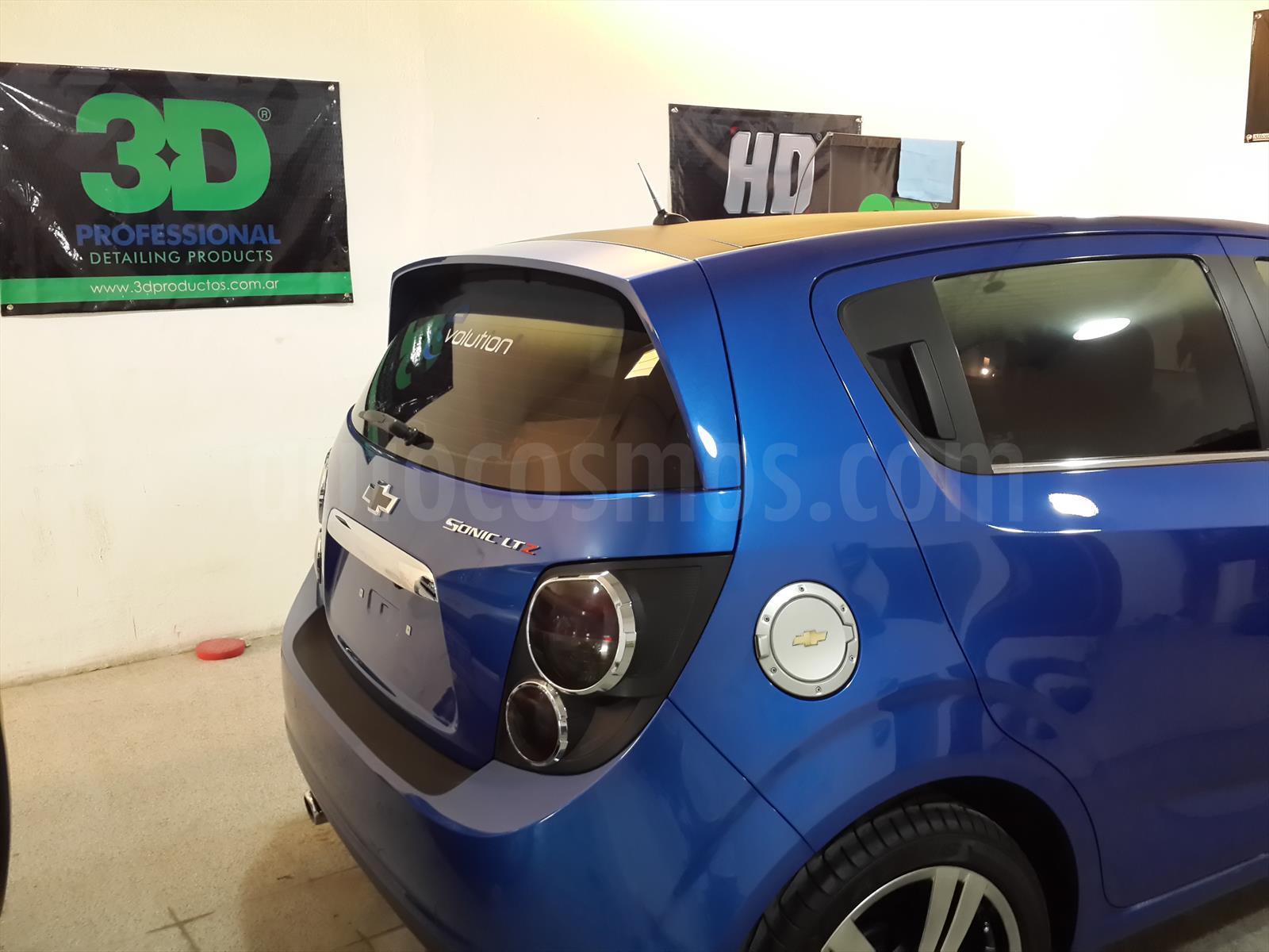 Venta Autos Usado Cordoba Chevrolet Sonic Ltz
