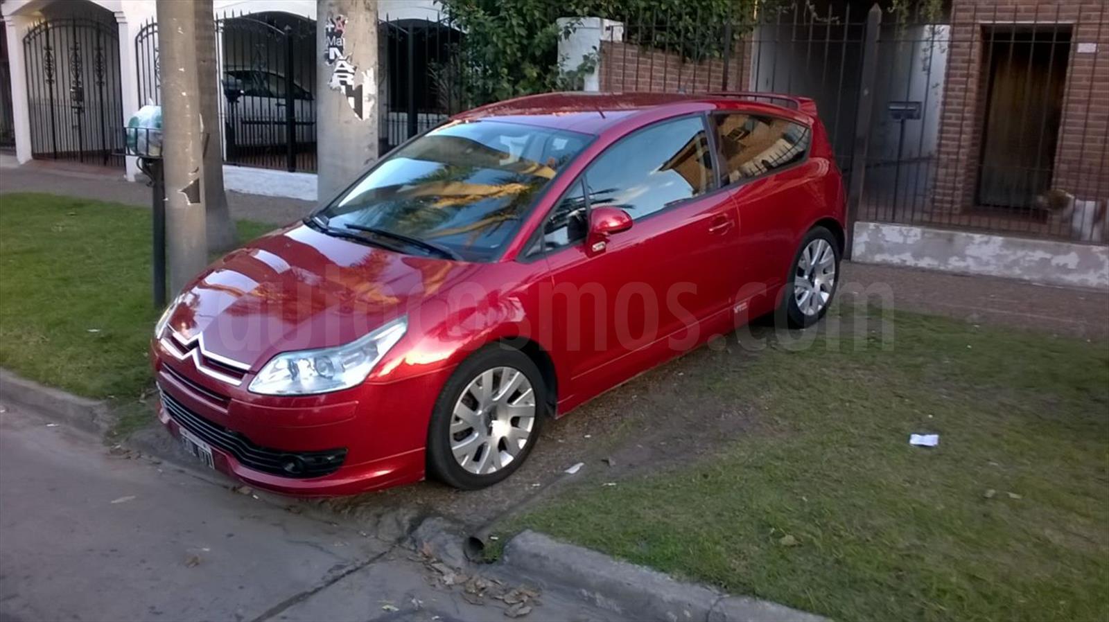 venta auto usado citroen c4 vts coupe 2007 color rojo precio. Black Bedroom Furniture Sets. Home Design Ideas