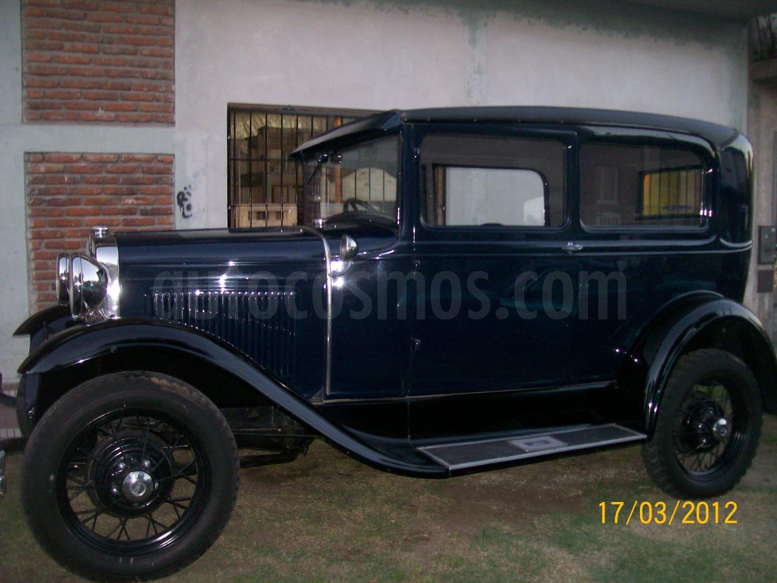 Venta Auto Usado Ford A Nafta 1931 Color Azul Electrico