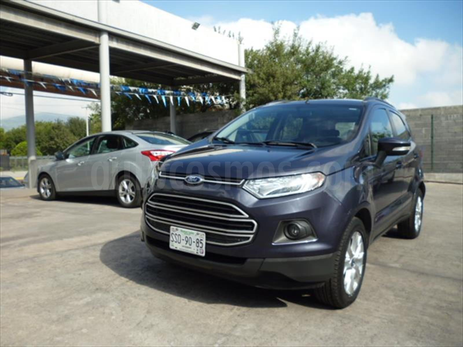 Venta Autos Usado Nuevo Leon Ford Ecosport Se
