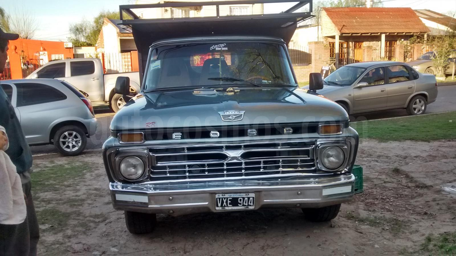 Venta Autos Usado Buenos Aires Ford F 100 Twin I Bean