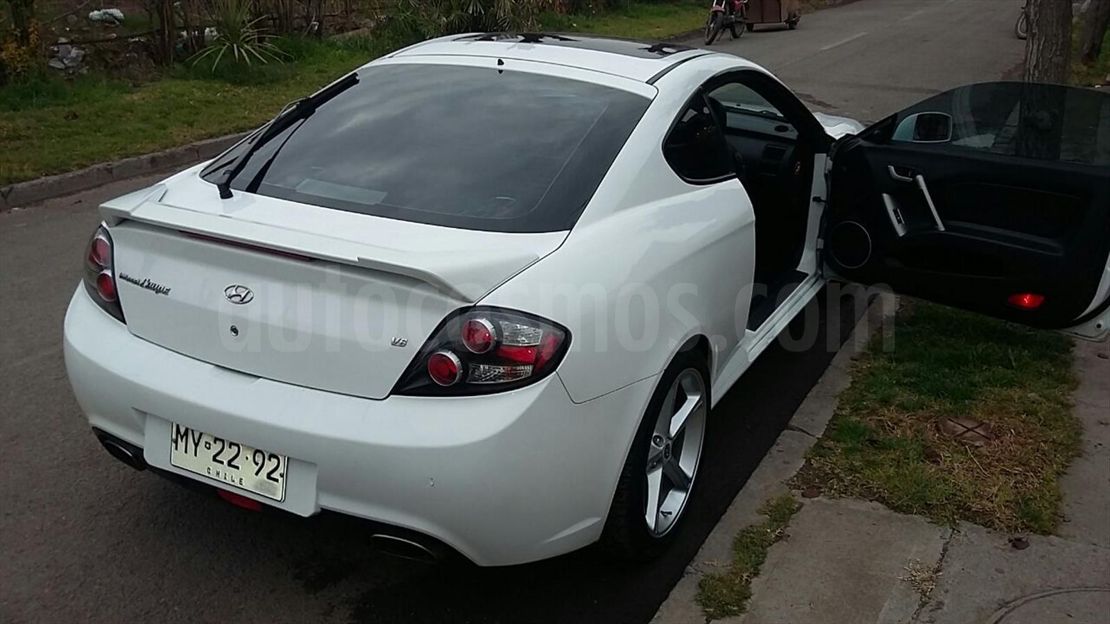 venta auto usado hyundai coupe 2 0 fx gls 2007 color blanco precio. Black Bedroom Furniture Sets. Home Design Ideas