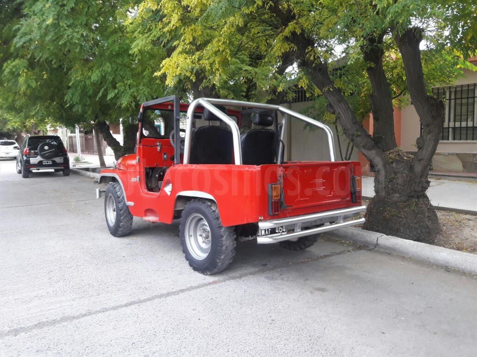 Venta Autos Usado Mendoza Ika Jeep 4x4 Ja 2p
