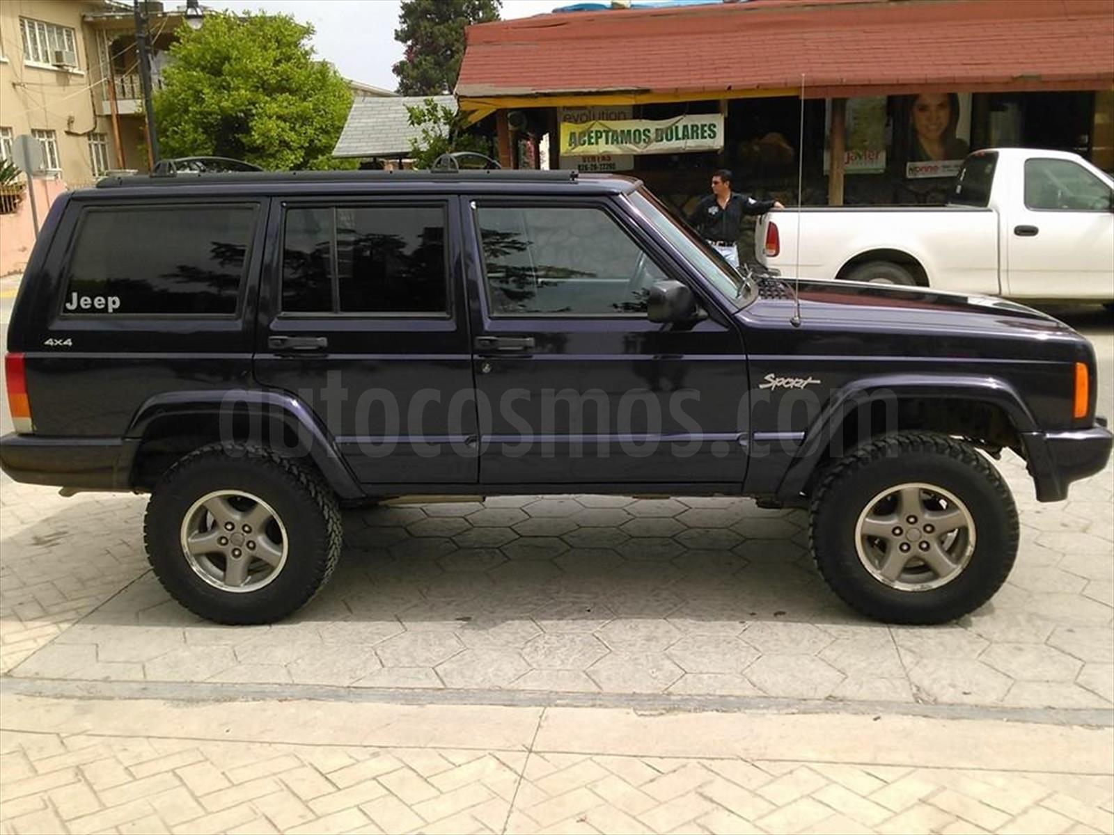 venta autos usado nuevo leon jeep cherokee sport 4x4. Black Bedroom Furniture Sets. Home Design Ideas