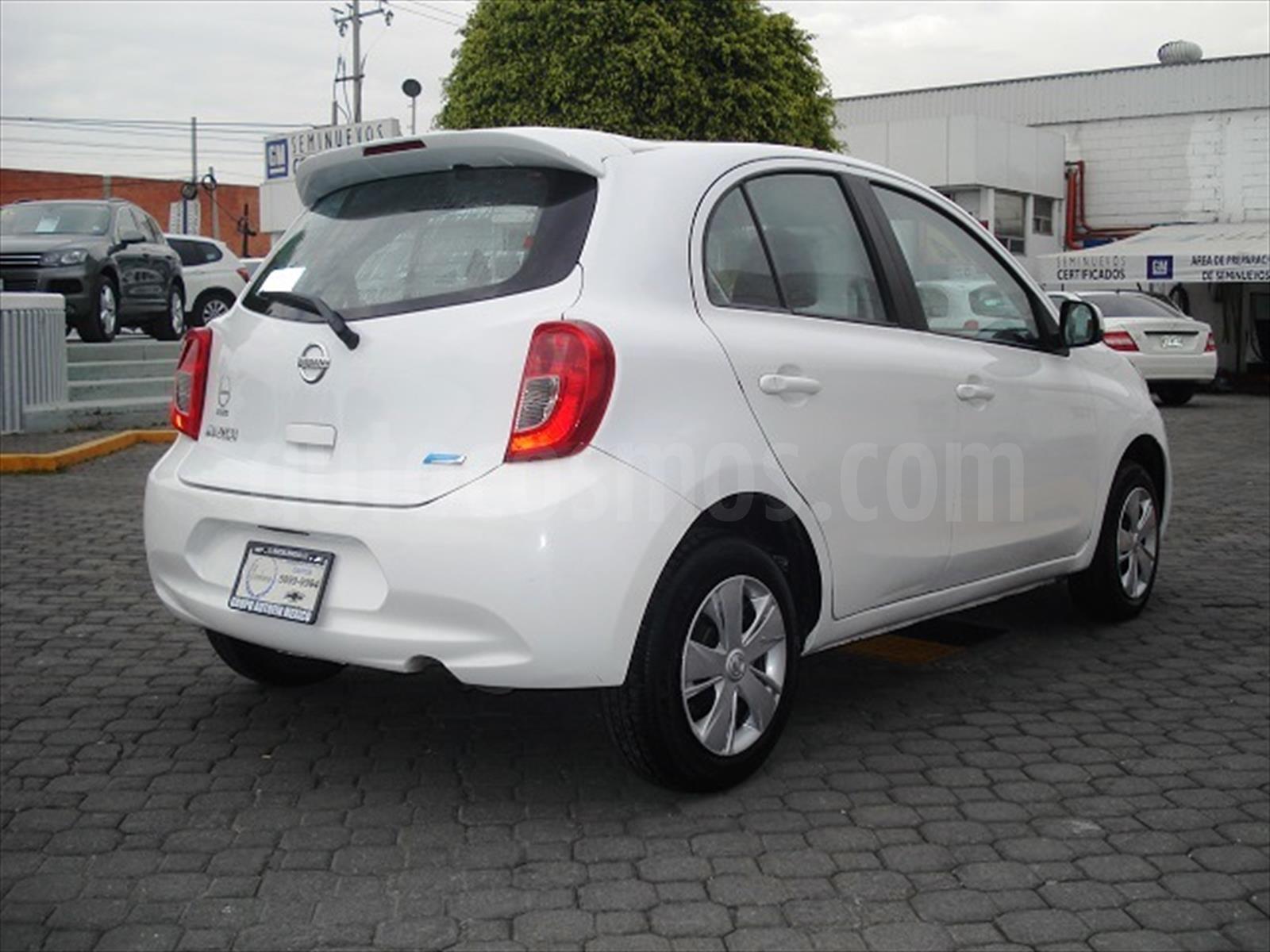 Venta Auto Usado Nissan March Sense 2014 Color Blanco