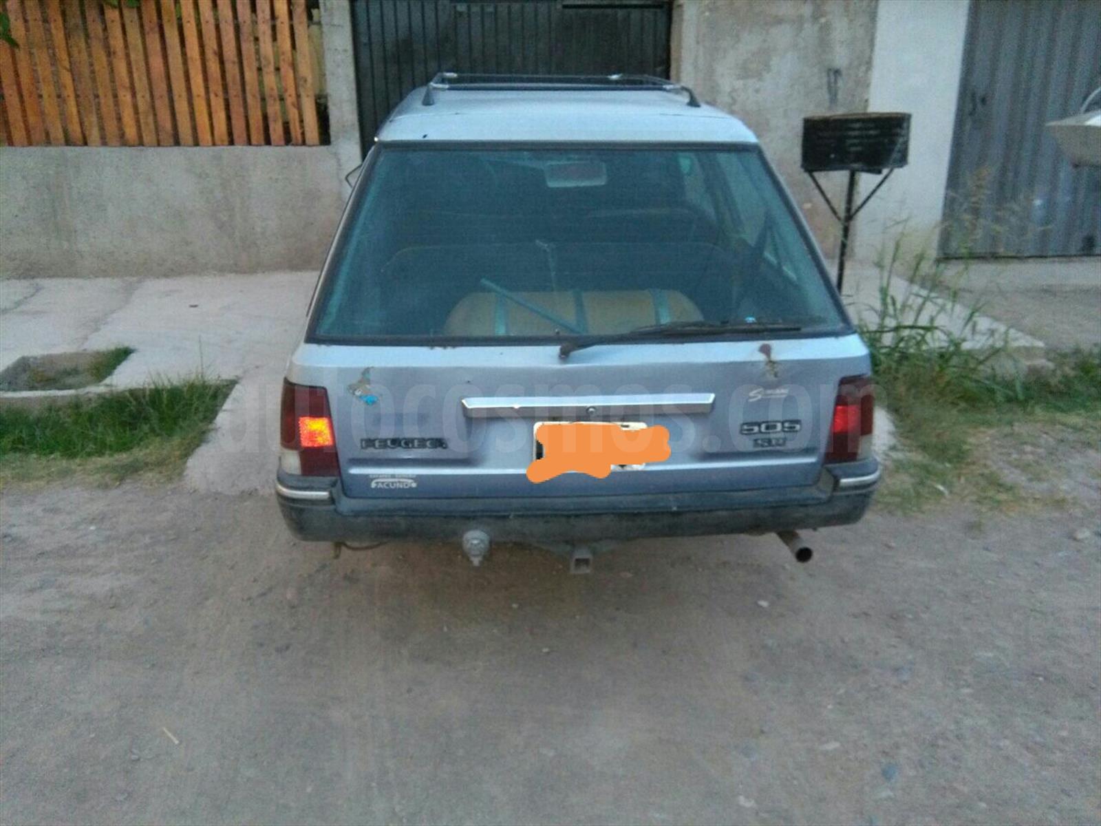 Venta Autos Usado Mendoza Peugeot 505 2 0
