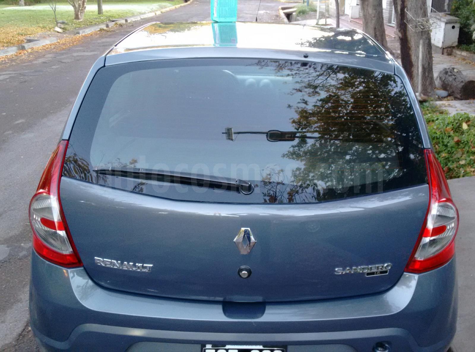 Venta Autos Usado Mendoza Renault Sandero 1 6 Pack
