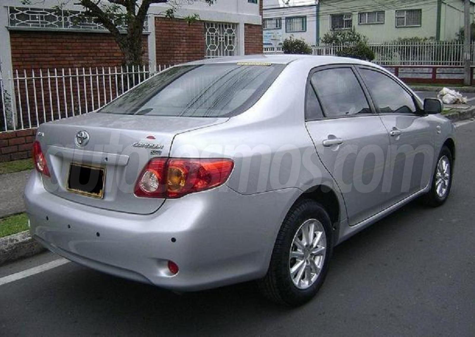 venta auto usado toyota corolla 1 6l xli 2011 color. Black Bedroom Furniture Sets. Home Design Ideas