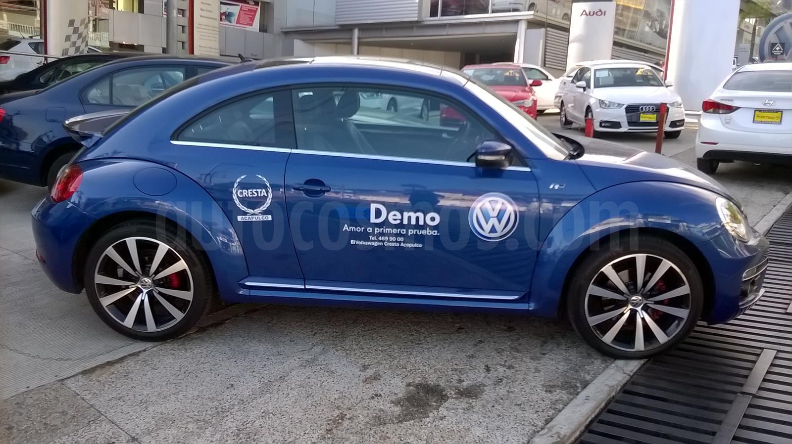 venta auto usado volkswagen beetle turbo r aut 2015 color azul precio 350 000. Black Bedroom Furniture Sets. Home Design Ideas