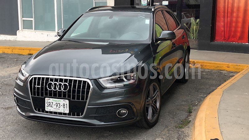 Audi Q3 S Line (220Hp) Seminuevo (2014) color Gris Daytona