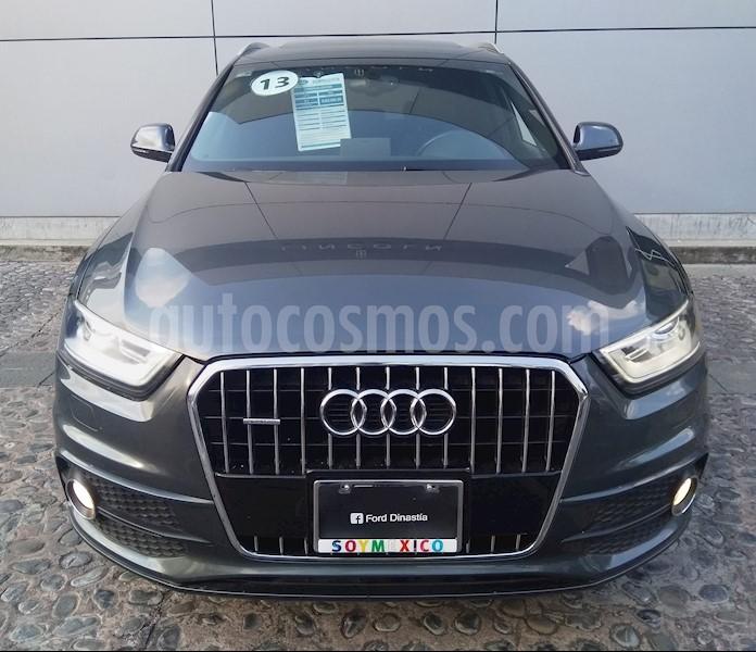 Audi Q3 S-Line Plus (211Hp) Usado (2013) Color Gris Oscuro
