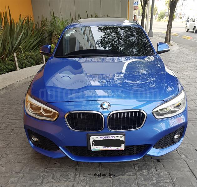 Bmw 120i: BMW Serie 1 5P 120i M Sport Usado (2017) Color Azul Precio
