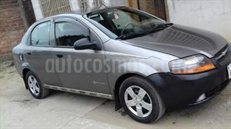 Chevrolet Aveo Family 15l Usado 2014 Color Gris Tundra Precio U
