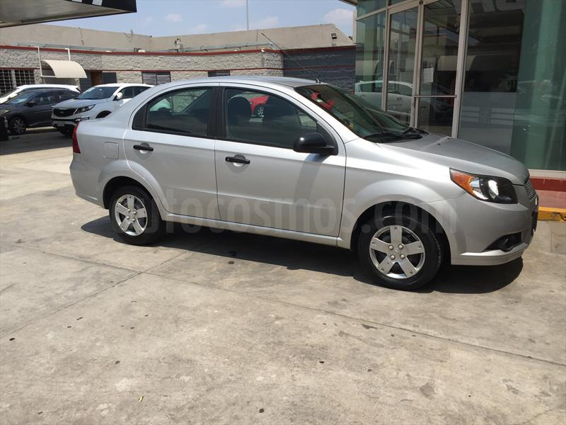 Chevrolet Aveo Ls Aut Usado 2013 Color Gris Plata Precio 110000