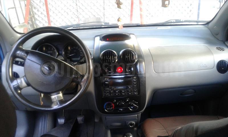 Chevrolet Aveo Lt 14 5p Ac Usado 2004 Color Azul Metalizado