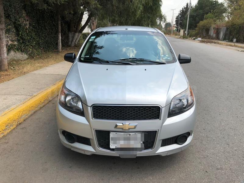 Chevrolet Aveo Lt Usado 2013 Color Plata Brillante Precio 93000