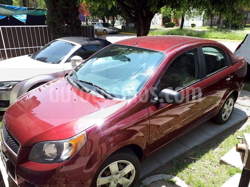 Chevrolet Aveo Lt Usado 2013 Color Rojo Tinto Precio 98000