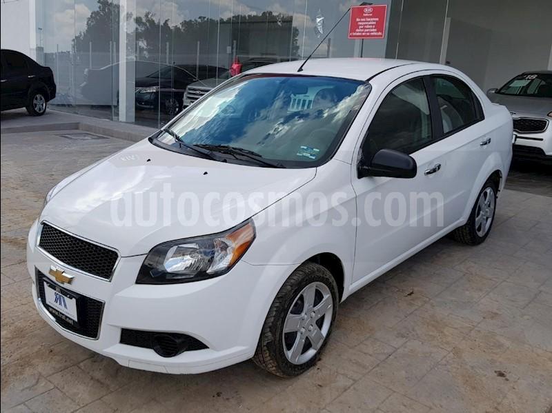 Chevrolet Aveo Lt Usado 2017 Color Blanco Precio 153000