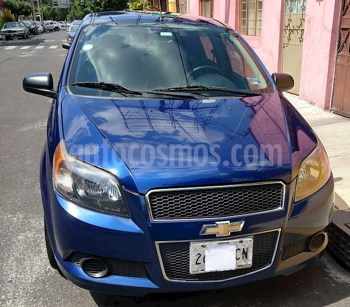 Chevrolet Aveo Paq C Usado 2013 Color Azul Metalico Precio 130000