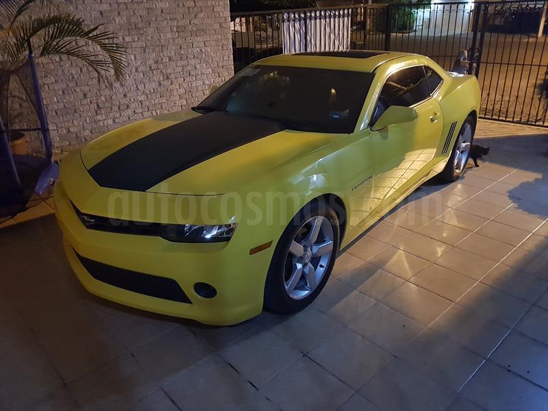 Chevrolet Camaro Lt Usado 2014 Color Amarillo Precio 315000