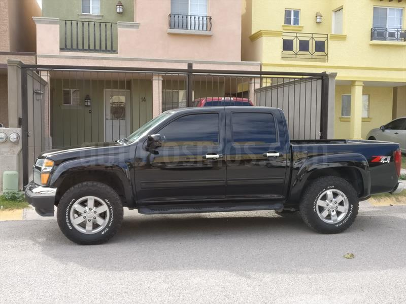 Chevrolet Colorado 37l 4x4 Cabina Doble Paq B Usado 2011 Color