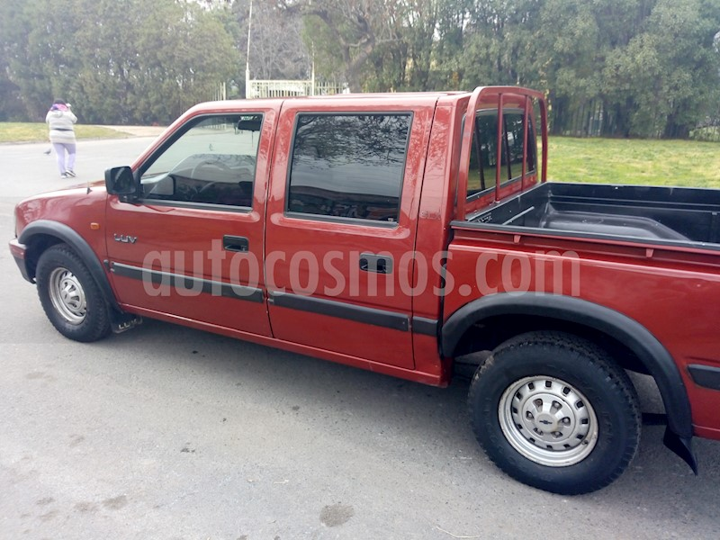 Chevrolet Luv Slx 22 Doble Cabina Ac Usado 2000 Color Marron