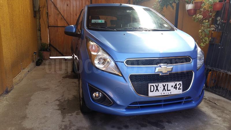 Chevrolet Spark Gt 12 Usado 2013 Color Azul Celeste Precio 4499000