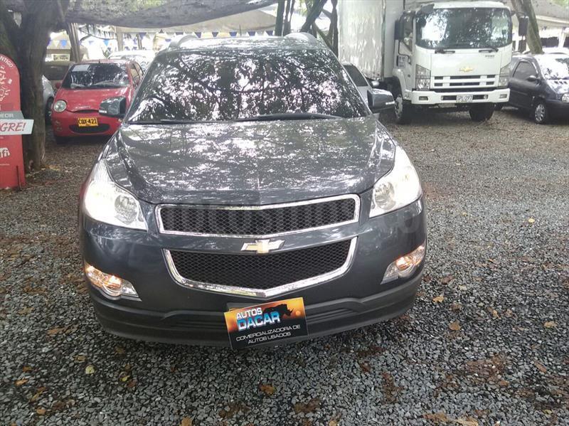 foto Chevrolet Traverse LS 4x4 usado (2012) color Gris precio $68.000.000