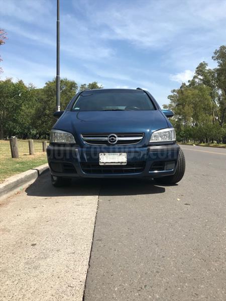 Chevrolet Zafira Gl Usado 2005 Color Azul Marino Precio 128000