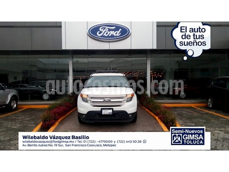 foto Ford Explorer 3.5 XLT V6 4X2 AT Seminuevo