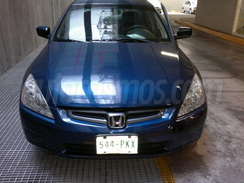 venta auto usado honda accord ex l 2 4l 2005 color azul. Black Bedroom Furniture Sets. Home Design Ideas
