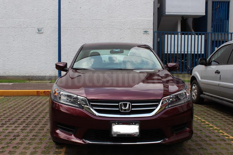 Honda Accord Usados >> Honda Accord LX Seminuevo (2014) color Vino Tinto precio ...