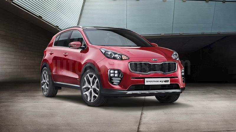 kia sportage 2 0l 4x2 usado 2016 color rojo precio. Black Bedroom Furniture Sets. Home Design Ideas