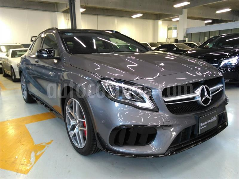 Mercedes Benz Clase Gla 45 Amg Aut Seminuevo 2018 Color Gris