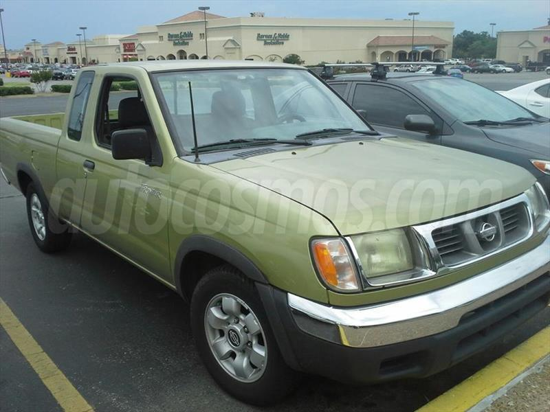 venta auto usado nissan frontier xe 2 4l 4x2 king cab 1998 color verde agua precio 86 000. Black Bedroom Furniture Sets. Home Design Ideas