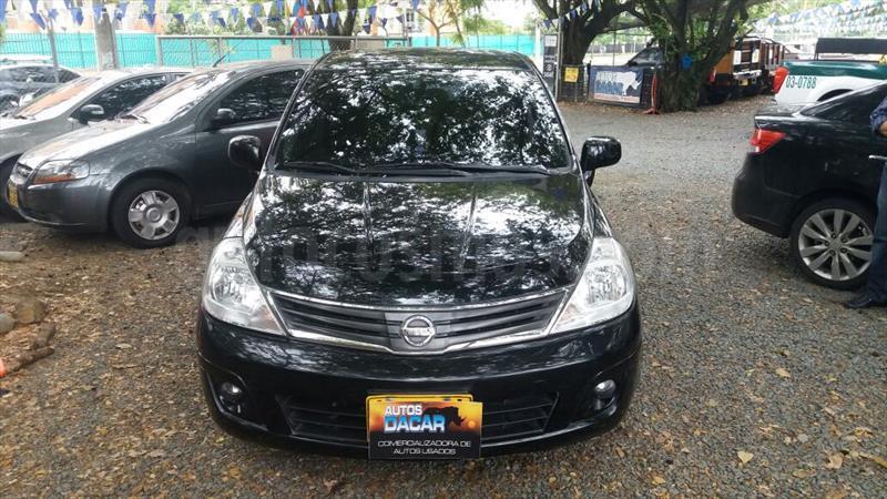 foto Nissan Tiida 1.8L Emotion usado (2012) color Negro precio $25.000.000